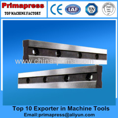 long guillotine shearing machine blade sheet metal shear machine blade