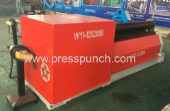 W11 2500mm power rolling machine price for steel metal
