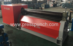 3 Roller steel plate bending machine