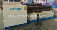 3 Roller Plate Rolling Machine Price