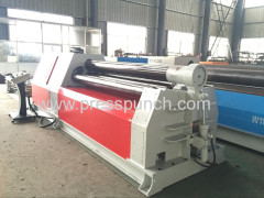 CE ISO metal sheet roller bending machine sheet metal fabrication rolling machine teel plate rolling machine