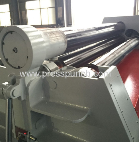 Four rollers Hydraulic iron roll bending machine manufacturer from china