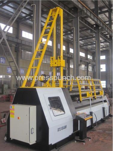 four roller plate roll bending machine