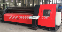 hydraulic plate roll machine with 4 rollers