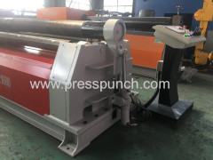 High Accuracy and Precison Circle W12 25*3000 W12 roll shaper machine with stainless steel pipe rollers for sale
