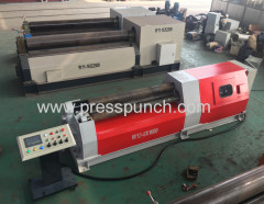 4 roller plate rolling machine