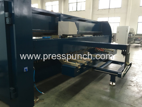 CNC hydraulic metal V grooving machine sheet metal V groover