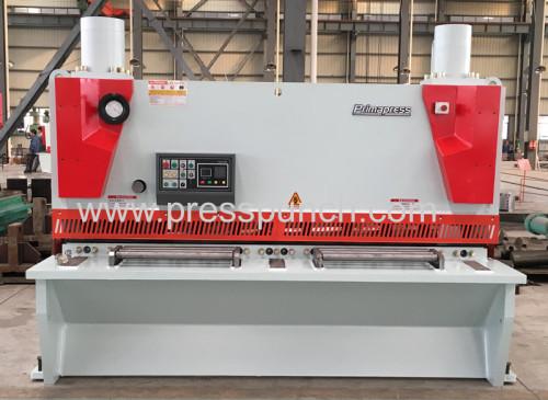 hydraulic sheet support cnc guillotine shear model QC11K 16 x 2500mm