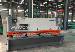 guillotine metal cutting machine