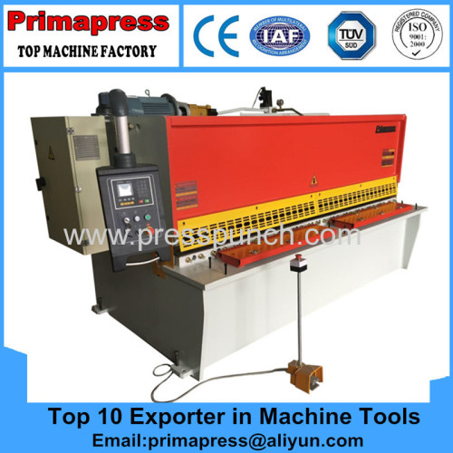 China hydraulic cnc small shearing machine and cutting machine