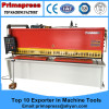 China hydraulic guillotine cnc high quality shearing machine