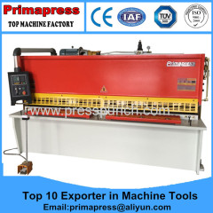 Qc 12K automatic steel shearing machine and cutting machine for sale from China Prima