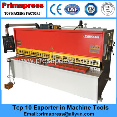 China cnc hydraulic small sheet metal shearing machineand carbon cutting machine