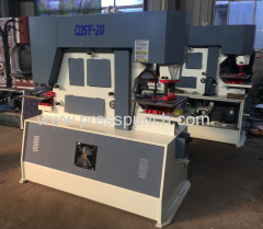 Angle steel shearing and punching machinary