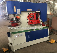 Angle steel cutting punching machine