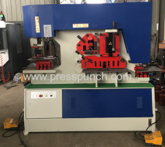 Sheet metal shearing and punching machinary