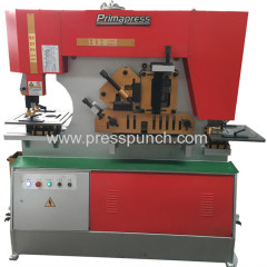 combined plate punch and shear machine