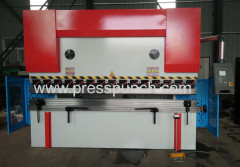 China hydraulic sheet plate bnding machine and steel press break machine