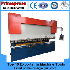 Prima electrical automatic press brake machine and bending machine for steel