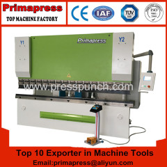 Prima cnc hydraulic sheet steel press brake machine and bending machine for sale