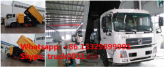 Factory direct sale best price Dongfeng tianjin street sweeper truck