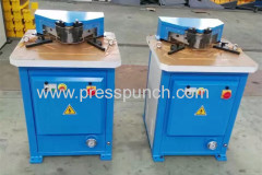 angle hydraulic notching machine