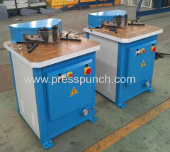 HYDRAULIC ANGLE NOTCH MACHINE