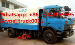 factory direct sale dongfeng 153 Cummins 190hp diesel road sweeping truck