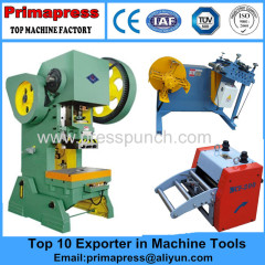 flywheel power press machine