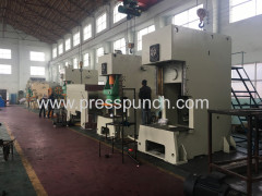 China hydraulic fixed power plate press machine with economic price