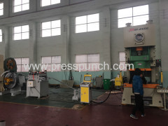 JS21-25T Open-type deep throat punch press machine from