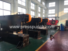punching press machine with feeding table