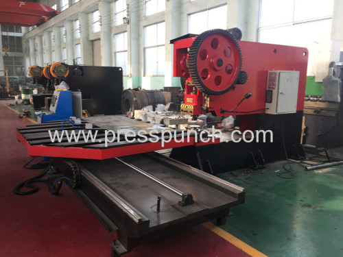 CE standard deep throat punching press J21S C-type metal sheet hole making machine