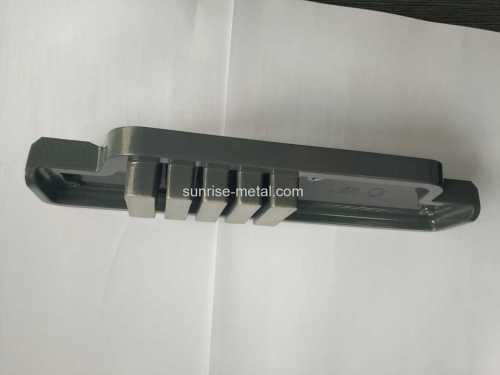 Casting di lavorazione CNC in alluminio di parti di strumenti medicali