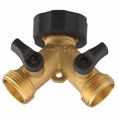 Brass Soft 2 Way Hose Tap Connector