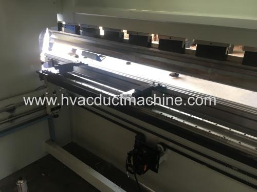 China pipe small press break machine and sheet cutting machine with economic price
