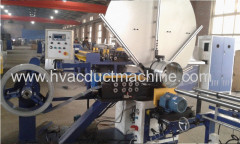 air duct spiral forming machine