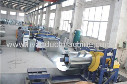 HVAC Factory air duct fabrication line,duct manufacture auto line V