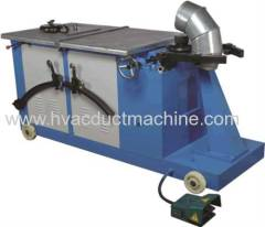 China mini automatic round duct machine and elbow making machine price
