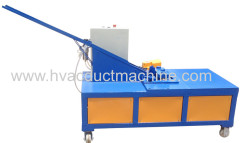 air duct corner inserting machine