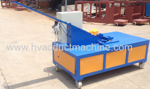 pneumatic duct corner inserting machine ventilation equipment air duct pipe corner forming