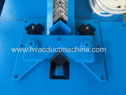 metal stamping galvanized duct corner connectors inserter machine