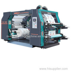 High Speed ​​4 COLOR FLEXOGRAHPIC DRUKMACHINE