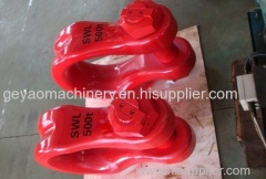 500t high strength CARBON STEEL BOW SHACKLE