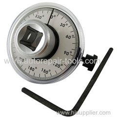 "1/2"" Dr Torque Angle Gauge 360 Degree Rotation Scale Gauge Meter"