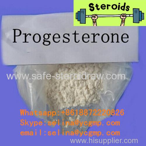 Pure Steroid Hormone Powder Progesterone