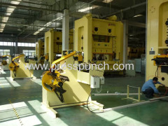 Automatic feeder for punching machine