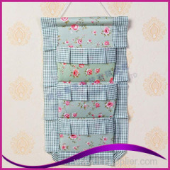 Door wall hanging storage pocket hanger storage bag