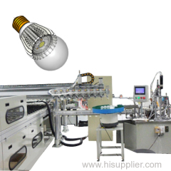 Customized LED light assembly line