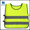 Red color polyester Hi vis vest Reflective safety vest